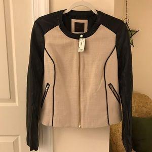 NWT The Limited Vegan Leather Moto Jacket